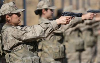 تصاویر زنان نظامی در آناتولی مرکزی ترکیه,عکس های نیروهای نظامی ترکیه,تصاویر نظامیان زن ترکیه