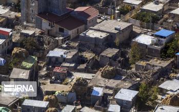تصاویر هوایی از مناطق زلزله زده,عکس های هوایی از مناطق زلزله زده,تصاویر هوایی از منطقه ورنکش