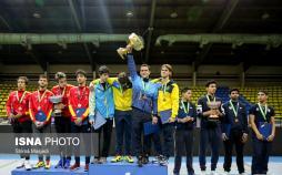تصاویر رقابت های جام جهانی شمشیربازی جوانان,عکس های رقابت های جام جهانی شمشیربازی جوانان,تصاویر سالن شهید کلاهدوز
