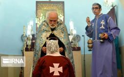 تصاویر روز میناس مقدس,عکس های کلیسای میناس مقدس تهران,تصاویر مراسم های مذهبی