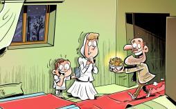 کاریکاتور وضعیت معیشتی مردم ایران,کاریکاتور,عکس کاریکاتور,کاریکاتور اجتماعی