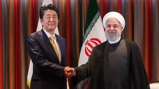 خبرگزاری ژاپن از موضوع مهم گفتوگوی روحانی و آبه رونمایی کرد