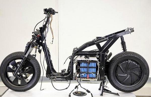 موتور سیکلت برقی شرکت سیت,اخبار خودرو,خبرهای خودرو,وسایل نقلیه