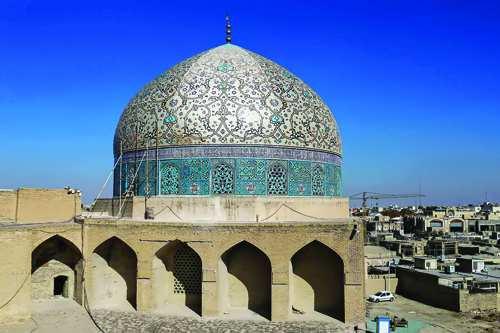 مرمت جدید گنبد مسجد میدان نقش جهان,اخبار فرهنگی,خبرهای فرهنگی,میراث فرهنگی