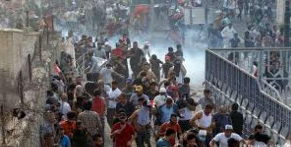 حمله به معترضان ضددولتی در تحریر,اخبار سیاسی,خبرهای سیاسی,خاورمیانه
