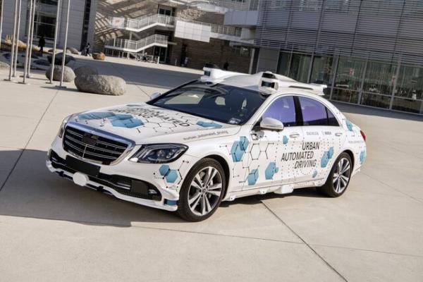 آزمایش فناوری خودران مرسدس بنز و بوش,اخبار خودرو,خبرهای خودرو,مقایسه خودرو