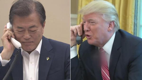 گفتوگوی سران کرهجنوبی و آمریکا درباره روند صلح شبه جزیره کره