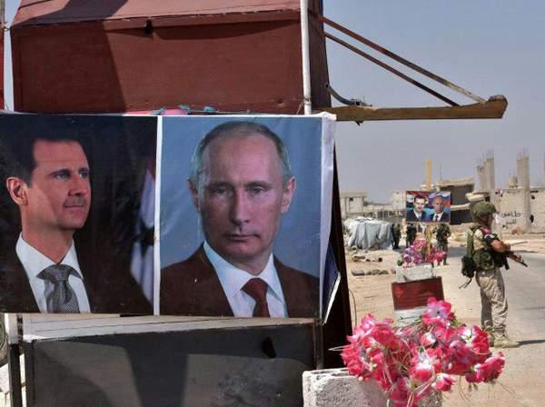 ویلادیمیر پوتین و بشار اسد,اخبار سیاسی,خبرهای سیاسی,سیاست خارجی