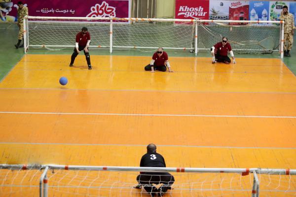 دیدار تیم گلبال مردان ایران برابر چین,اخبار ورزشی,خبرهای ورزشی,ورزش