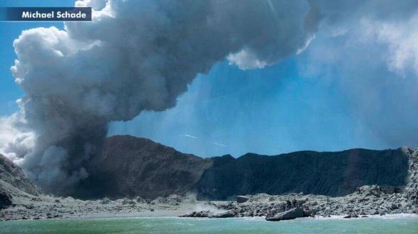فوران آتشفشان در نیوزیلند,اخبار حوادث,خبرهای حوادث,حوادث طبیعی