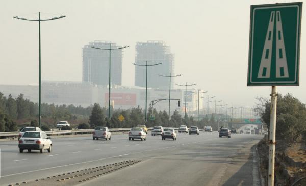 آلودگی هوای اصفهان,اخبار اجتماعی,خبرهای اجتماعی,وضعیت ترافیک و آب و هوا