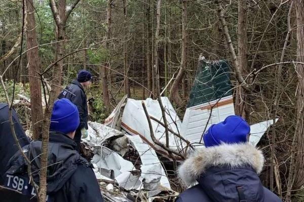 سقوط یک فروند هواپیما در کانادا,اخبار حوادث,خبرهای حوادث,حوادث