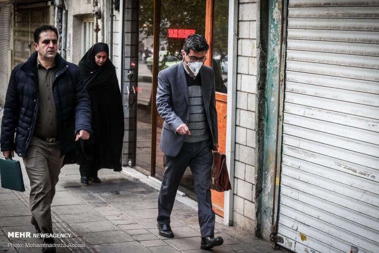 تصاویر آلودگی هوا در تهران,عکس های آلودگی هوا در تهران,تصاویر ناسالم بودن هوای تهران برای همه گروهها