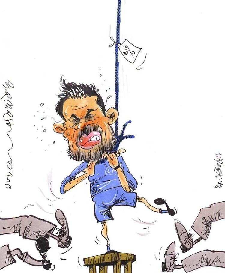 کارتون جدایی آندرها استراماچونی از استقلال,کاریکاتور,عکس کاریکاتور,کاریکاتور ورزشی