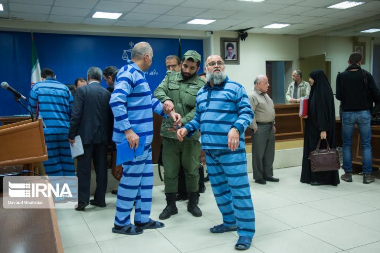 تصاویر جلسه رسیدگی به پرونده فساد ارزی,عکس های جلسه رسیدگی به پرونده فساد ارزی,تصاویر متهمان گروه طرح و نقشه پناهی