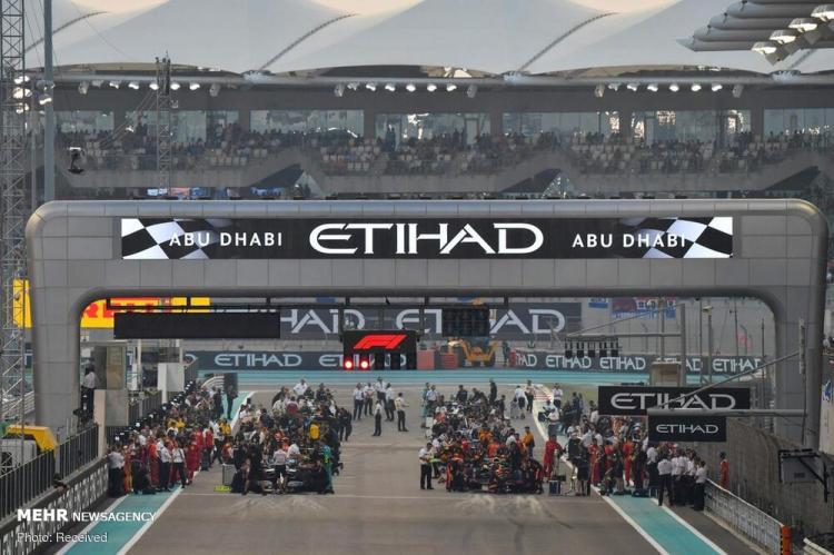 تصاویر مسابقات فرمول یک در ابوظبی,عکس های ورزشی,تصاویر مسابقات در ابوظبی