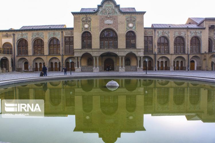 تصاویر عمارت مسعودیه,عکس های عمارت مسعودیه,تصاویر جاذبه های گردشگری ایران