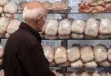 قیمت مرغ در بازار تهران,اخبار اقتصادی,خبرهای اقتصادی,کشت و دام و صنعت