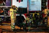 آتش سوزی در انبار لباس در استانبول,اخبار حوادث,خبرهای حوادث,حوادث امروز