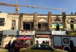 آتش سوزی در ضلع شرقی پلاسکوی قدیم,اخبار حوادث,خبرهای حوادث,حوادث امروز
