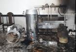 حادثه آتش سوزی در تالار عروسی,اخبار حوادث,خبرهای حوادث,حوادث امروز