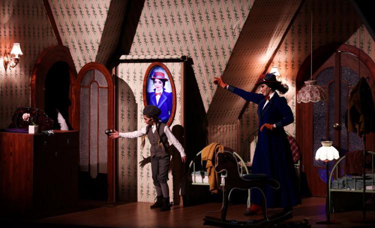 تصاویر نمایش موزیکال مری پاپینز,عکس های نمایش موزیکال مری پاپینز,تصاویر نمایش موزیکال مری پاپینز در تالار وحدت
