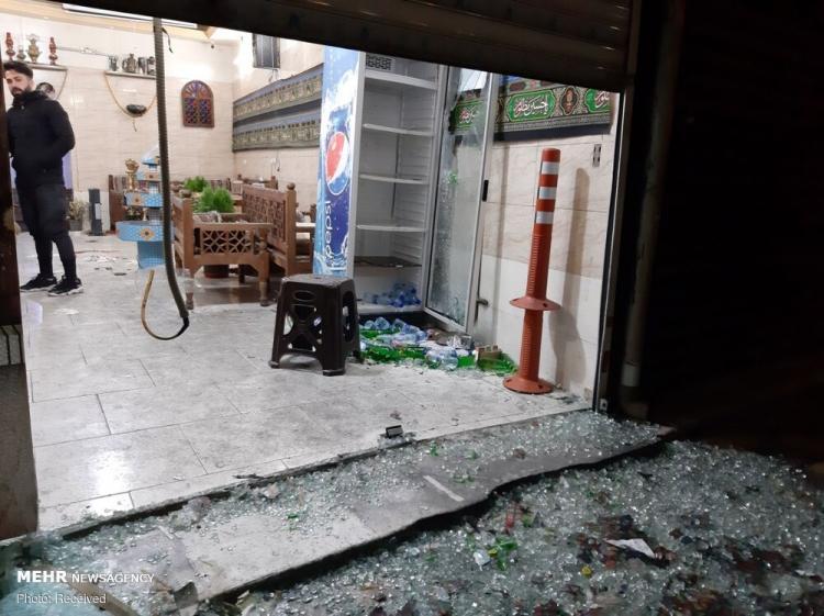 تصاویر تیراندازی اشرار در خیابان خاتم الانبیا تهران,عکس های حادثه در تهران,تصاویر تیراندازی در تهران