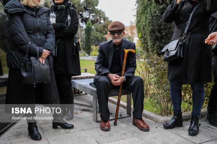 تصاویر مراسم تشییع پیکر تورج شعبانخانی,عکس های درگذشت تورج شعبانخانی,تصاویر هنرمندان