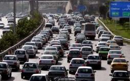 ترافیک سنگین در آزادراه کرج-تهران,اخبار اجتماعی,خبرهای اجتماعی,وضعیت ترافیک و آب و هوا