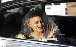 تصاویر برآورده شدن آرزوی پرند,عکس های برآورده شدن آرزوی پرند,تصاویر دختر مبتلا به بیماری سرطان در اهواز