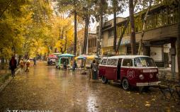 تصاویر پاییز در چهارباغ اصفهان,عکس های دیدنی از اصفهان,تصاویر خیابان های اصفهان