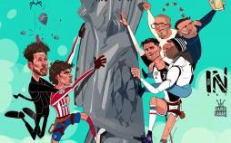 کارتون کریستیانو رونالدو,کاریکاتور,عکس کاریکاتور,کاریکاتور ورزشی