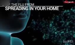 فیلم/ چگونه از سرایت آنفولاآنزا در خانه پیشگیری کنیم؟