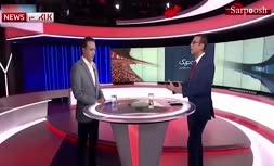 فیلم/ اولین صحبت های مزدک میرزایی در شبکه ایران اینترنشنال