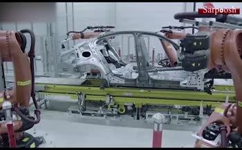 فیلم/ مراحل ساخت BMW 5 Series مدل 2020