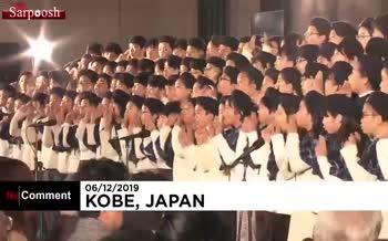 فیلم/ جشنواره روشنایی در ژاپن؛ به یاد یاد قربانیان زلزله ۲۴ سال قبل