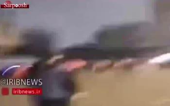 درگیری شدید در بغداد/ 4 تن کشته و 80 نفر زخمی شدند + فیلم