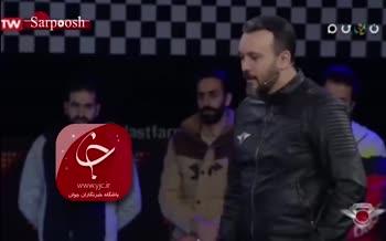 فیلم/ کادوی جالب جواد رضویان برای عروسی برزو ارجمند