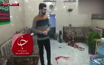 فیلم/ حمله مسلحانه در بلوار خاتم الانبیا تهران
