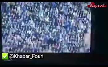 فیلم/ سوتی «محمدرضا احمدی» قبل از شروع بازی استقلال و شهرخودرو