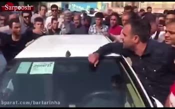 فیلم/ برخورد تند شهروندان گناوهای با نمایندهی این شهر