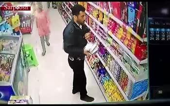 فیلم/ دزدی در لباس پلیس در شیراز