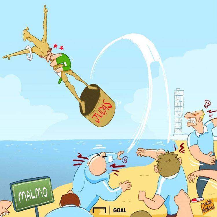 کاریکاتور زلاتان ابراهیموویچ,کاریکاتور,عکس کاریکاتور,کاریکاتور ورزشی
