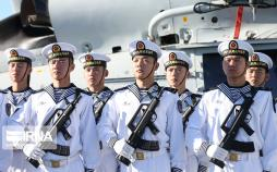 تصاویر نیروهای شناور چین در چابهار,عکس های نیروهای دریایی چین در چابهار,تصاویر بندر چابهار