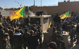 تصاویر حمله عراقیها به سفارت آمریکا,عکس های حمله عراقیها به سفارت آمریکا,تصاویر سفارت آمریکا در بغداد