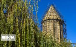 تصاویر حذف علفهای هرز برج قابوس,عکس های حذف علفهای هرز برج قابوس,عکس های بلندترین برج آجری جهان