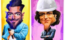 کارتون محمدرضا گلزار,کاریکاتور,عکس کاریکاتور,کاریکاتور هنرمندان