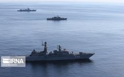تصاویر رزمایش دریایی ایران چین و روسیه,عکس های نیروی دریایی ایران در اقیانوس هند,تصاویر نیروهای دریایی روسیه در دریای عمان