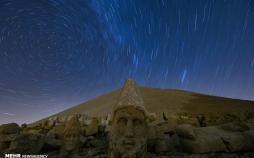 تصاویر سردیس های سنگی کوه نمرود ترکیه,عکس های کوه نمرود ترکیه,تصاویردیدنی