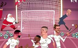 کارتون پیروزی رئال مقابل رایو وایه کانو,کاریکاتور,عکس کاریکاتور,کاریکاتور ورزشی